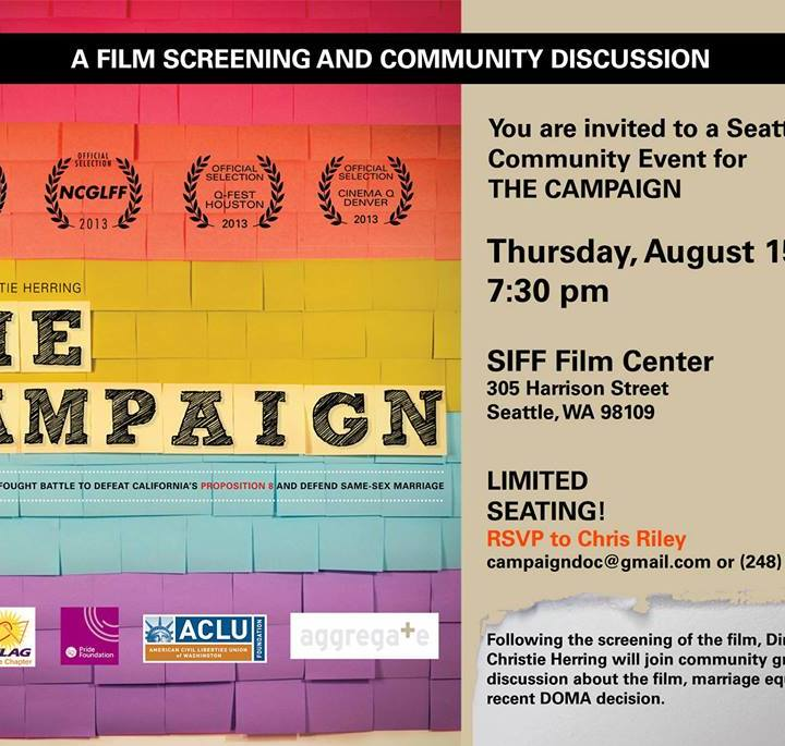The Campaign Documentary Arrives in Seattle