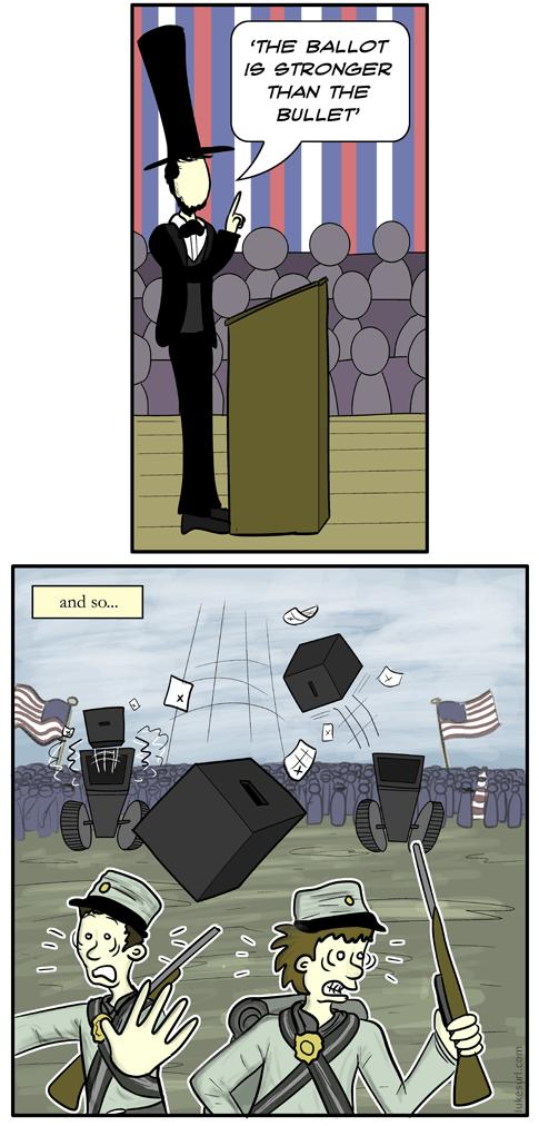 ballot or bullet
