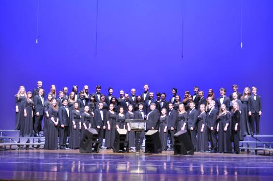 The University Chorale put on their best.