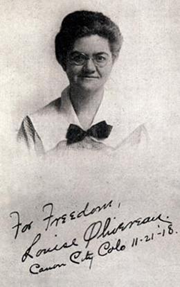 Louise Olivereau, 1884-1963