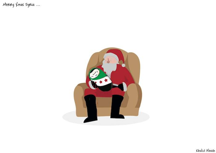 merry christmas syria