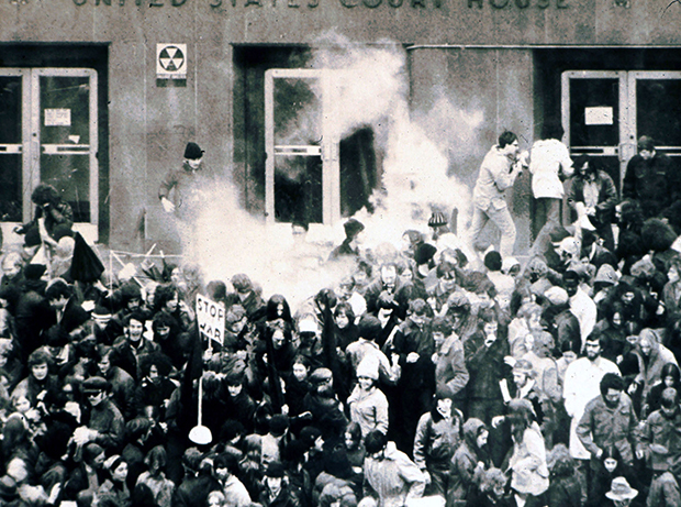 Same as it ever was: police vs. protesters in downtown Seattle, February 17, 1970Barry Sweet (BarrySweetPhotos.com)