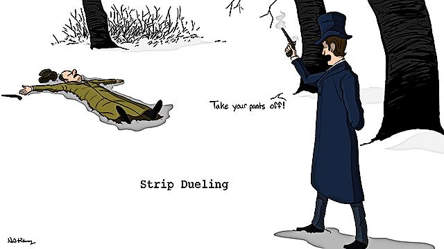 Strip-Dueling
