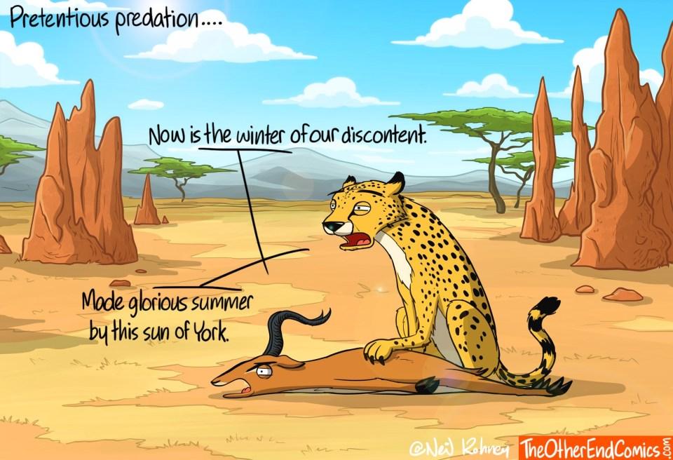 Pretentious-Predation