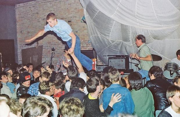 Spluii Numa play at the Metropolis, circa 1983Mike Leach