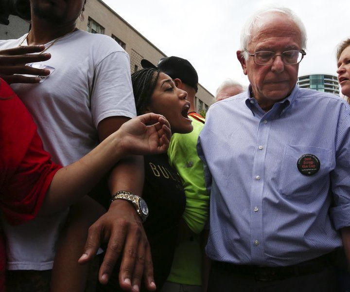 Connecting The #FeelTheBern Crowd With #BlackLivesMatter Supporters, If That's Your Thing