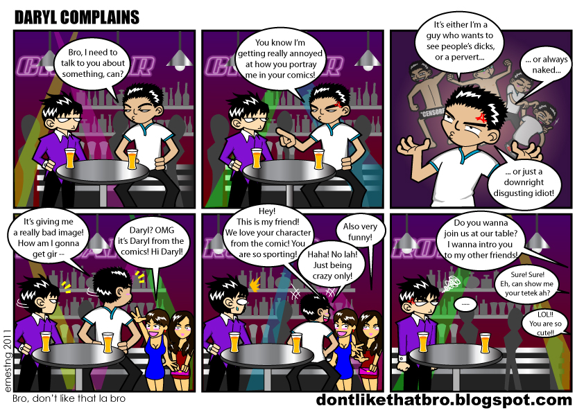 dontlikethatbro-Daryl Complains