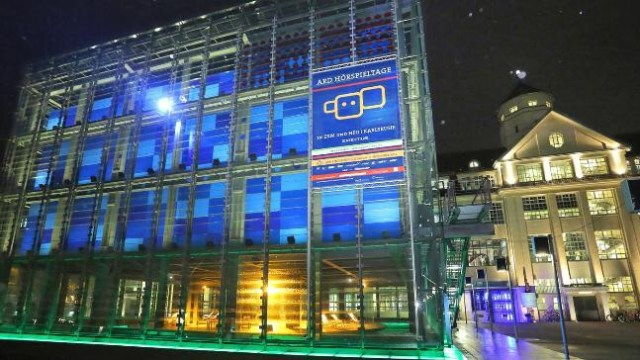 The Center for Art and Media in Karlsruhe lights up with Hörspiel.