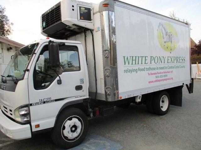 white-pony-express-truck
