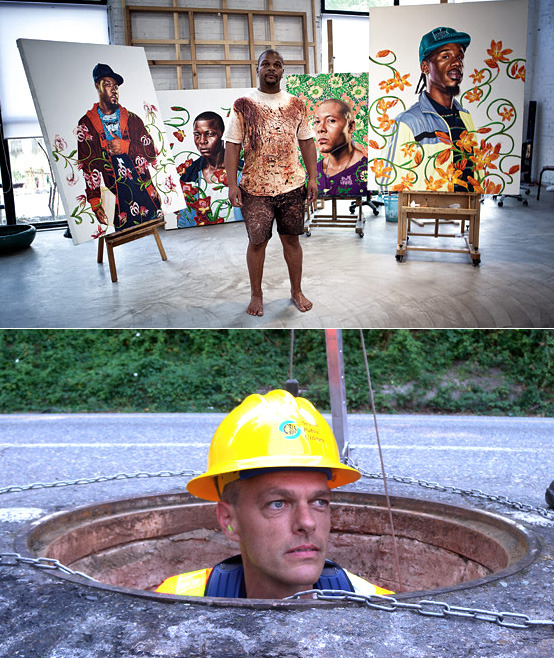 Stokley Towles and Kehinde Wiley: Re-contextualizing the Mundane and the Oppressed