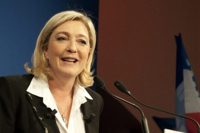 Marine Le Pen. Photo Credit: theglobalpanorama CC-BY-SA.