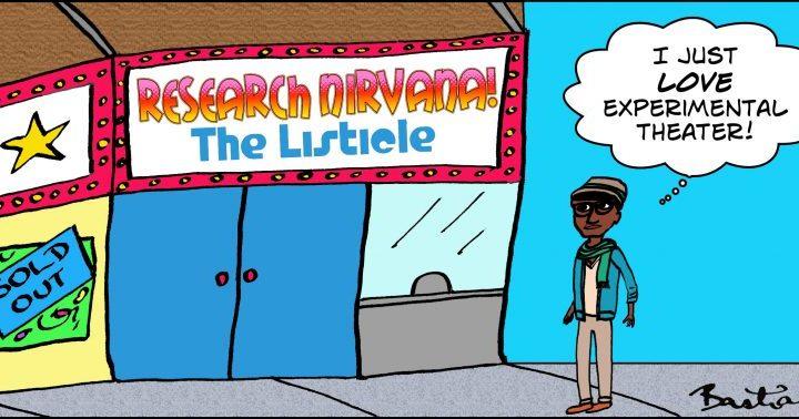 Research Nirvana: The Generosity Edition