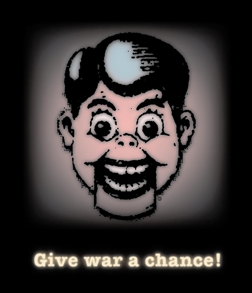Give War A Chance