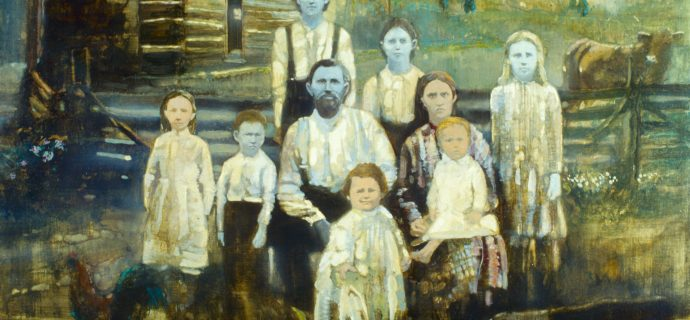 Finding The Famous Painting of the Blue People of Kentucky