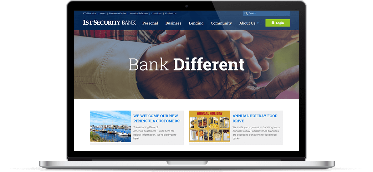 First Security Bank Online