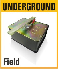 Field Electro-Mechanical Underground Swing Gate Opener