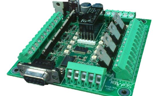 The SeaView Systems SVS-601 System Power Controller is shown.