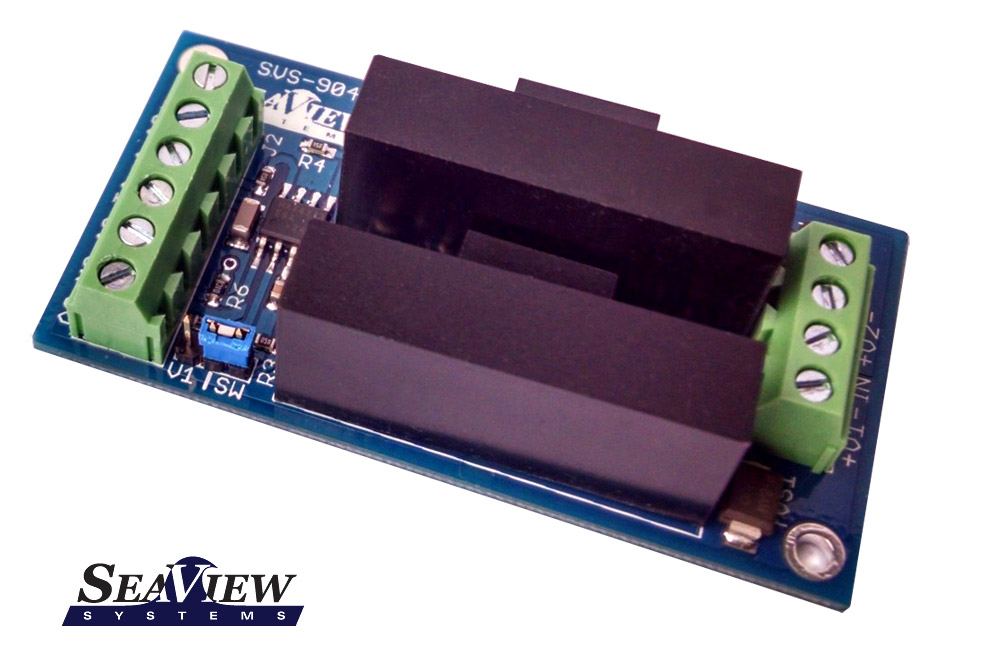 The SVS-904 Two Channel Isolated Video Switch is shown.