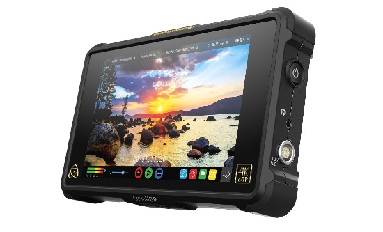 SeaView Systems' Atomos Shogun Flame recording monitor for BlueROV2 is shown.