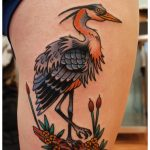 Great Blue Heron Tattoo