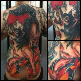 wolf-tattoo-back