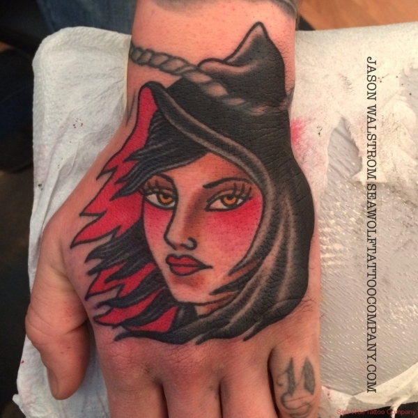 Lady Reaper Tattoo