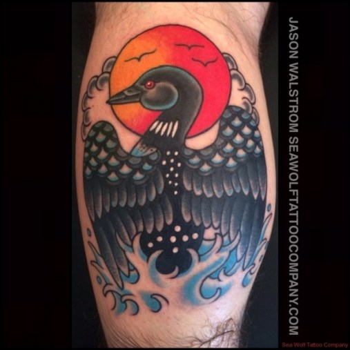 Loon Tattoo