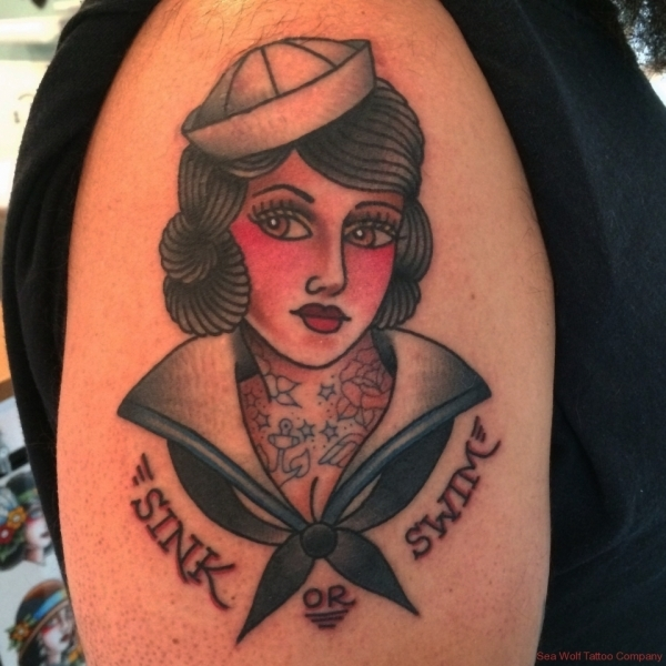 Sailor Lady Tattoo