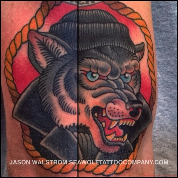 Sea Wolf Tattoo