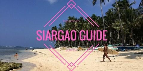 Surfen auf Siargao - Philippinen Surfguide für Anfänger