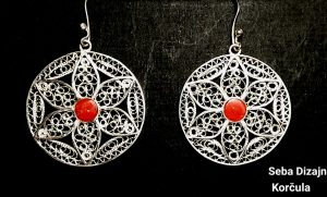 sebadizajn, sebasilver, filigree, silver, jewellery, jewelry, Korcula, Croatia, art, artist, cufflink, earrings, necklace, bracelets, pendant, coral, gems, unique, handmade, custommade, custom,