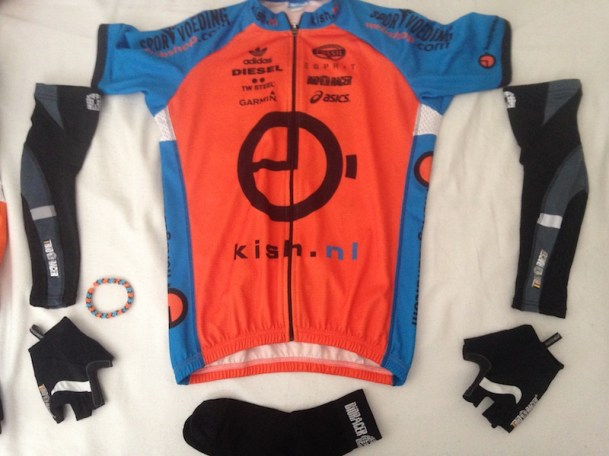 Mijn Kish / Bioracer cycling gear en lucky charm by Yada..