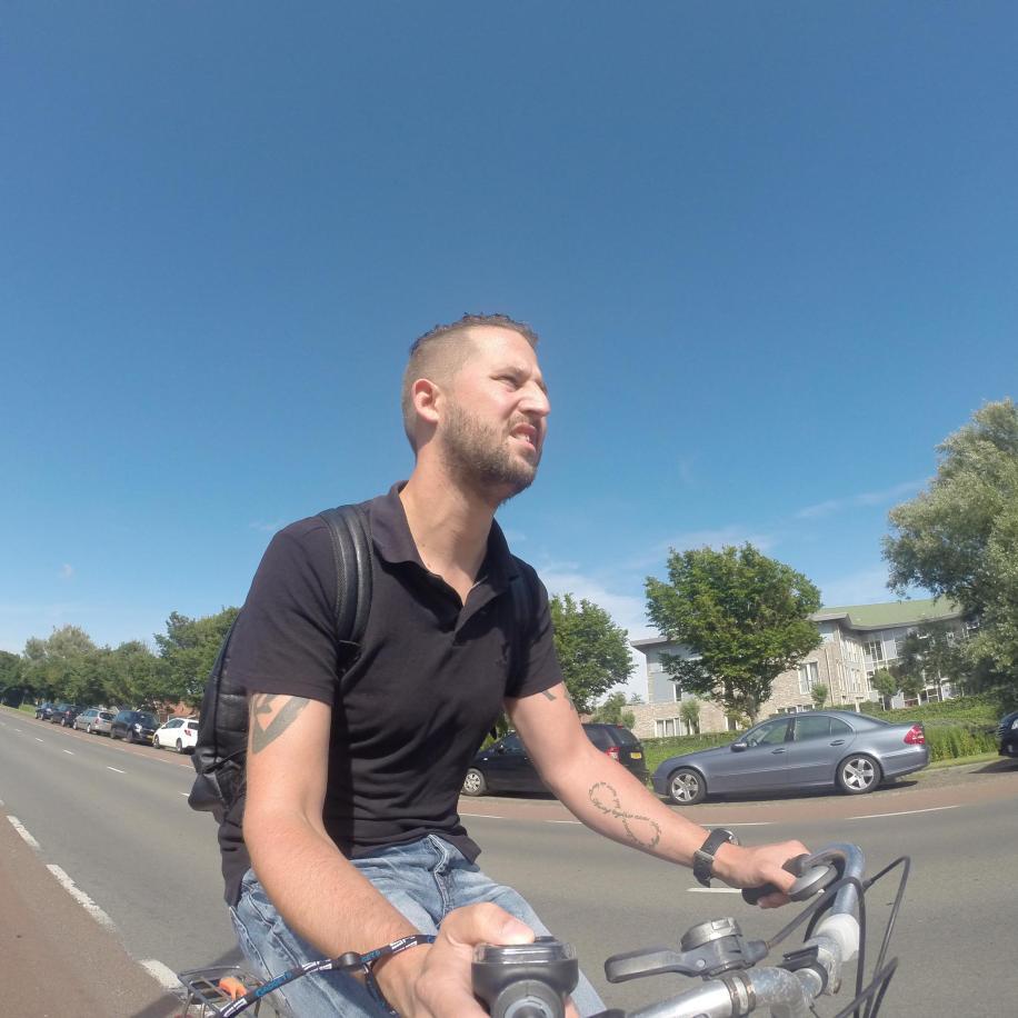 Een kort ritje op de fiets...