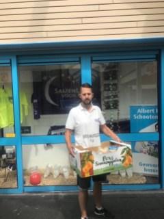 Albert Heijn Schootenplaza sponsorde mijn voeding...