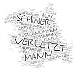 Mitte - Wordcloud Polizeimeldungen