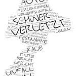 Spandau - Wordcloud Polizeimeldungen