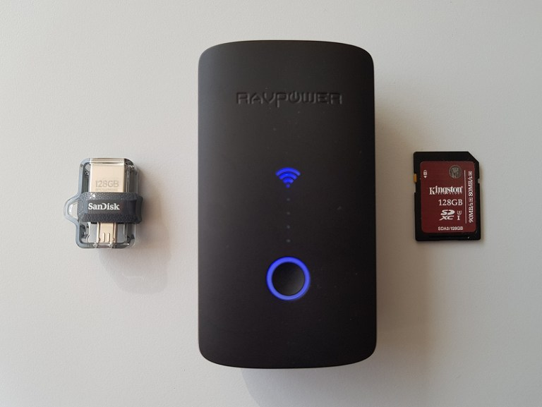 Backup Files on-the-go or the RAVPOWER FileHub RP-WD03 review