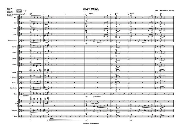 FUNKY FEELING SCORE 01 - Sebastian Piovesan