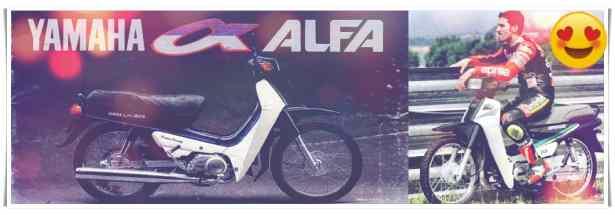 Motor Kuno Yamaha Alfa Alfa II Alfa II R  Alfa II Z,