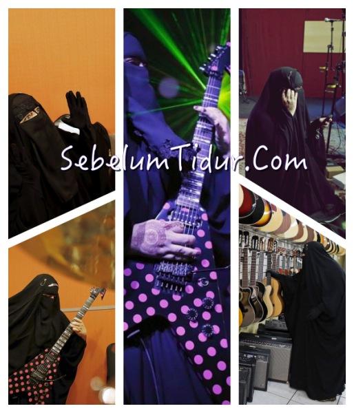 Permalink to 5 Foto Terbaru Gisele Marie, Gitaris Heavy Metal Asal Brasil yang Bercadar