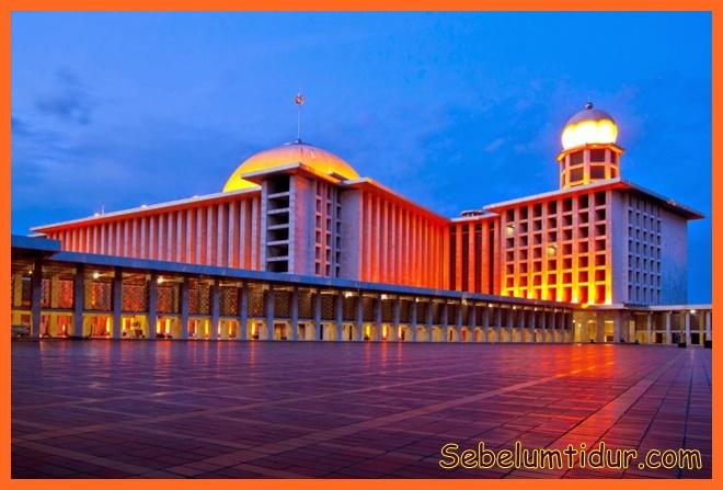 masjid terbesar di indonesia 2016