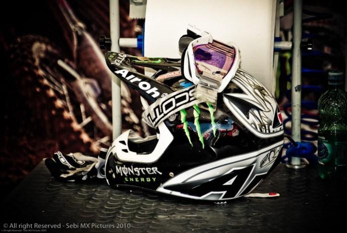 Helmet…
