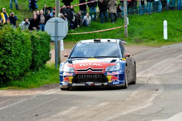 The World Champion : Sebastien Loeb