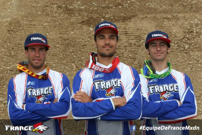 ©Facebook - Equipe de France MXDN