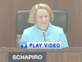 Play video of SEC Chairman Schapiro discussing asset-backed issuers and mortgage-related pools