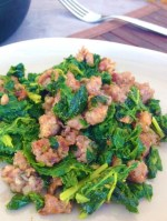 Sausage with Broccoli Rabe (Rapini)