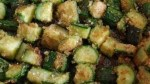 Zucchini Crumble with Toasted Almonds and Lemon