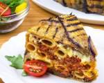 Eggplant Pasta Timballo
