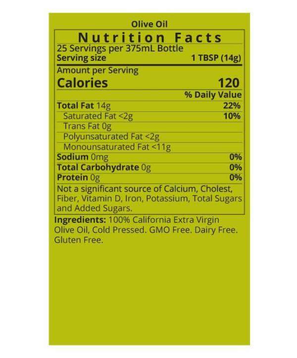 Arbosana Organic Extra Virgin Olive Oil – Mild