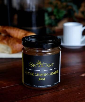 Meyer Lemon Ginger Jam